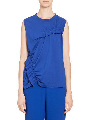 Marni Sleeveless T-shirt in jersey Woman