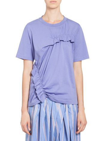 Marni Short-sleeved T-shirt in jersey Woman
