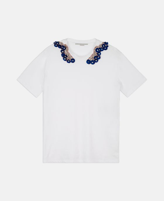 Floral Emroidery T-shirt