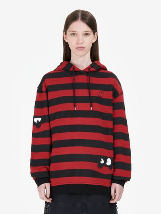 Monster Stripe Hoodie