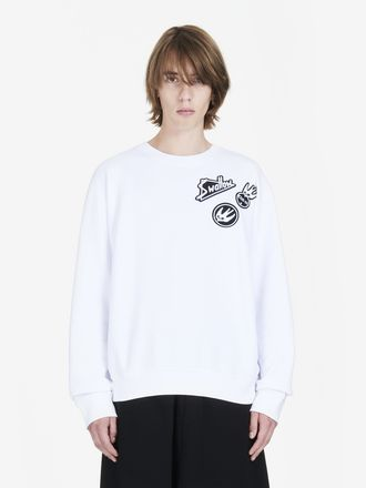 Skater Swallow Badge Long-Sleeved T-Shirt
