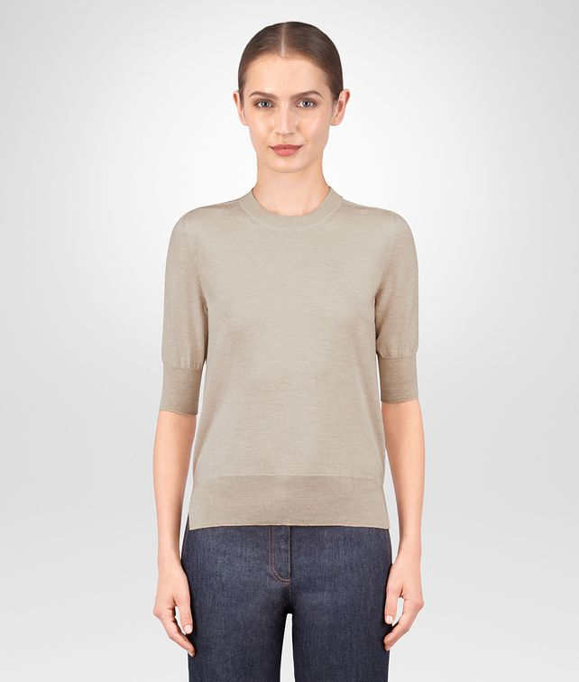 BOTTEGA VENETA MINK MERINO SWEATER Knitwear or Top or Shirt [*** pickupInStoreShipping_info ***] fp
