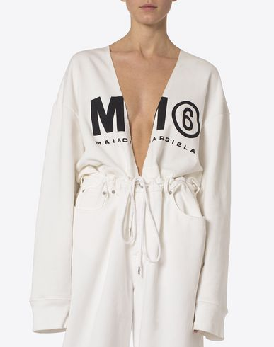 MM6 MAISON MARGIELA Sweatshirt D MM6 logo sweatshirt f
