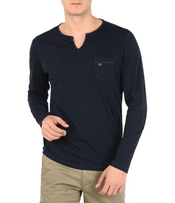 NAPAPIJRI SCONE Long sleeve T-shirt Man f