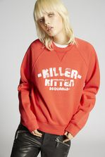 DSQUARED2 Killer Kitten Long Cool Sweatshirt Sweatshirt Woman