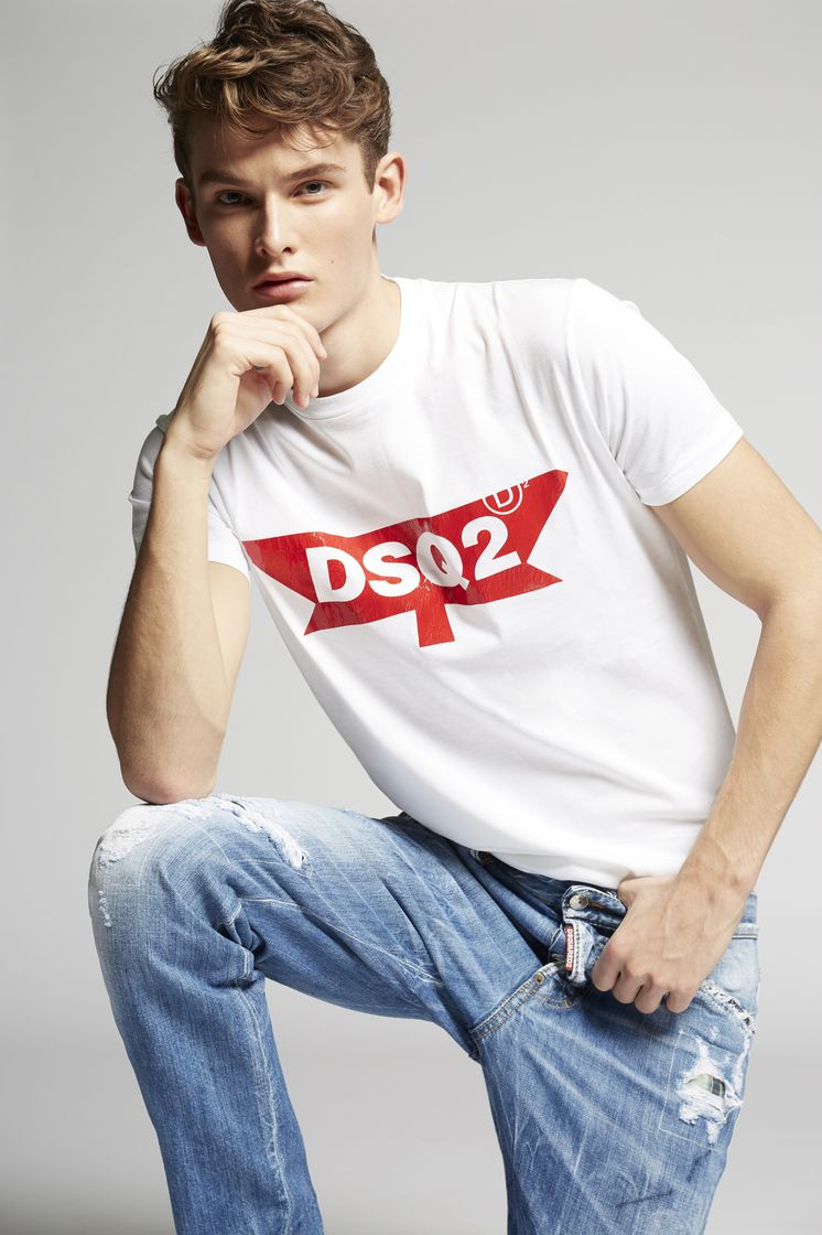 Dsquared2 DSQ2 T Shirt - Short Sleeve t Shirts for ... 2fb412400e56