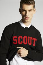DSQUARED2 Scout Wool Knit Pullover Pullover Man