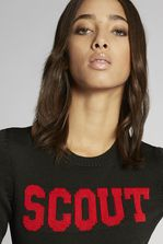 DSQUARED2 Scout Wool Knit Pullover Pullover Donna