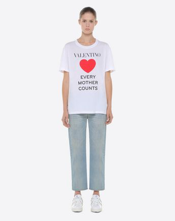 VALENTINO T-shirt D Heavy lace T-shirt r