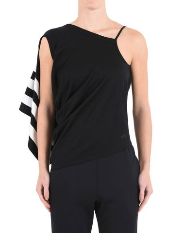 Y-3 STRIPE TANK TOP TEES & POLOS woman Y-3 adidas