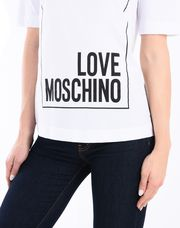 LOVE MOSCHINO Short sleeve t-shirts Woman e