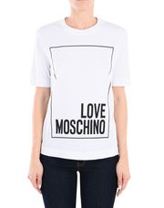 LOVE MOSCHINO Short sleeve t-shirts Woman r