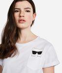 T-shirt Ikonik Choupette