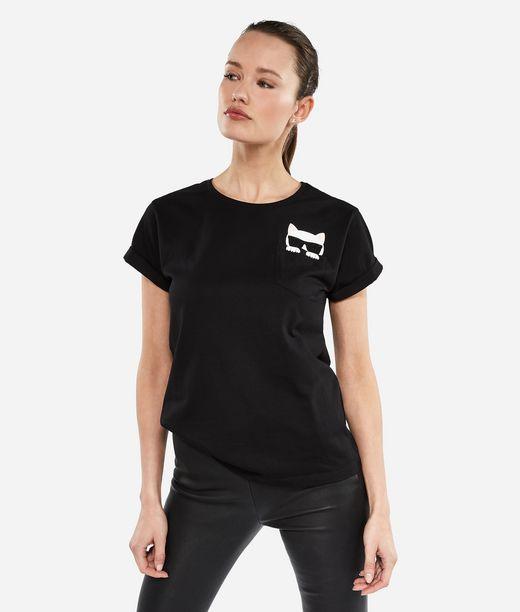 KARL LAGERFELD Ikonik Choupette T-Shirt 12_f