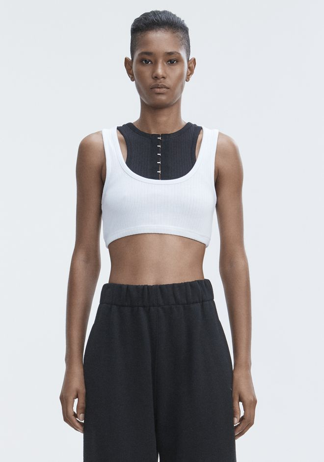T by ALEXANDER WANG 上衣 女士 RIBBED BRA TOP