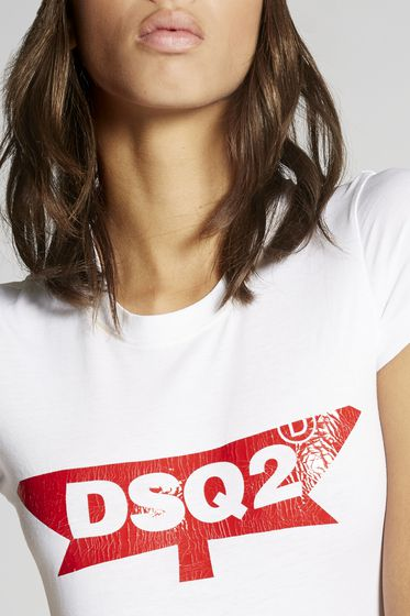 DSQUARED2 Short sleeve t-shirt Woman S72GD0069S22507169 b