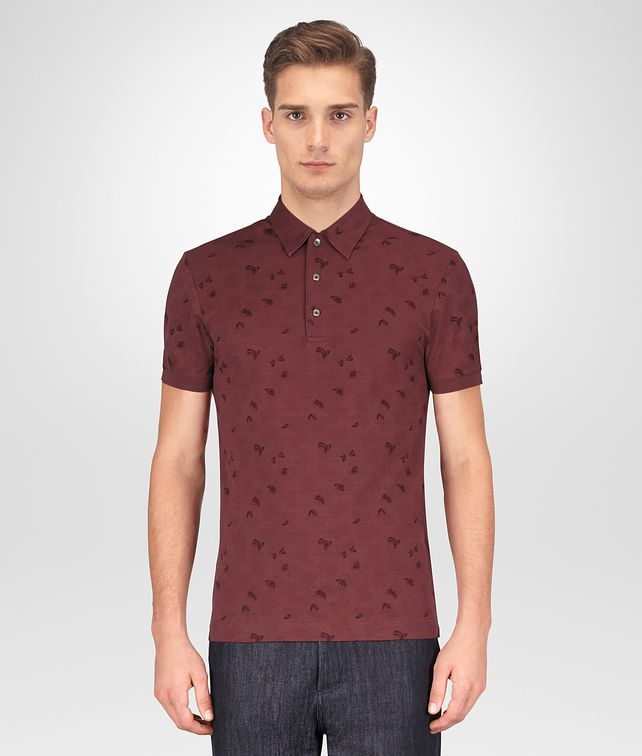 BOTTEGA VENETA BAROLO COTTON POLO T-Shirts and Polos Man fp