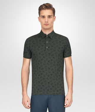 MOSS COTTON POLO