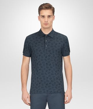 DENIM COTTON POLO