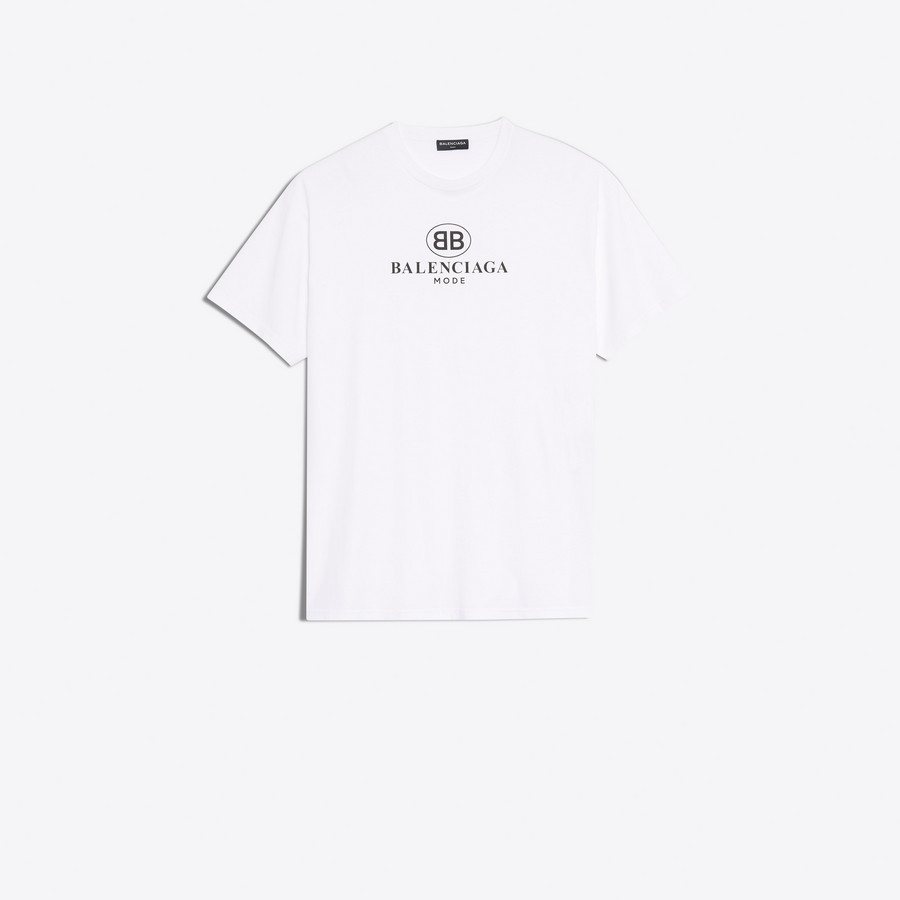 e3bbb299c BB Balenciaga Mode T Shirt White for Men | Balenciaga