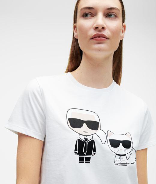 KARL LAGERFELD T-shirt Ikonik Karl et Choupette 12_f
