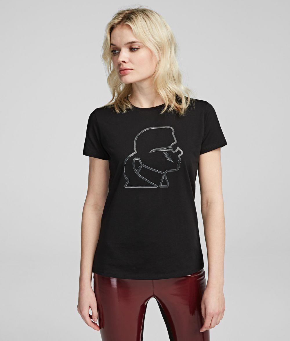 KARL LAGERFELD T-shirt Karl Ikonik avec éclair T-shirt Femme f