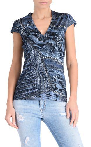 JUST CAVALLI Short sleeve t-shirt D Short-sleeved New World T-shirt f