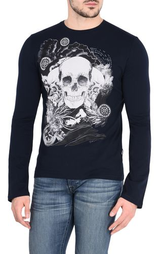JUST CAVALLI Long sleeve t-shirt U Skull T-shirt f