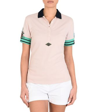 NAPAPIJRI ELYRA WOMAN SHORT SLEEVE POLO,LIGHT PINK