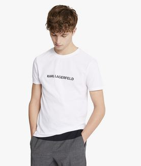 KARL LAGERFELD UNISEX - T-SHIRT RELAX KARL'S ESSENTIAL