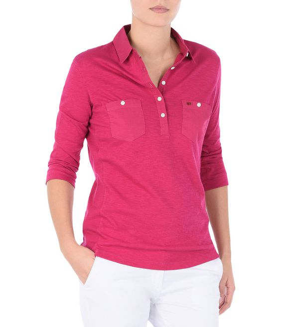 NAPAPIJRI EMY Long sleeve polo Woman f