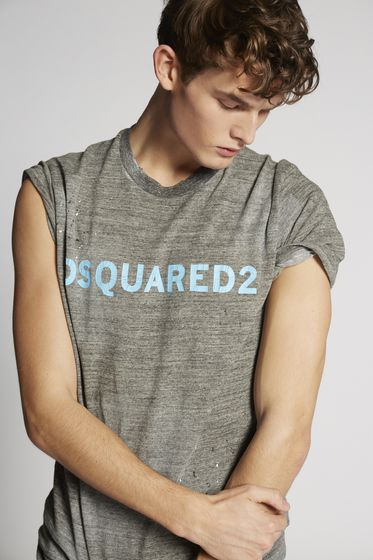 DSQUARED2 Short sleeve t-shirt Man S74GD0368S22427239 b