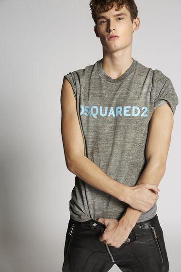 DSQUARED2 Short sleeve t-shirt Man S71GD0616S22507900 m