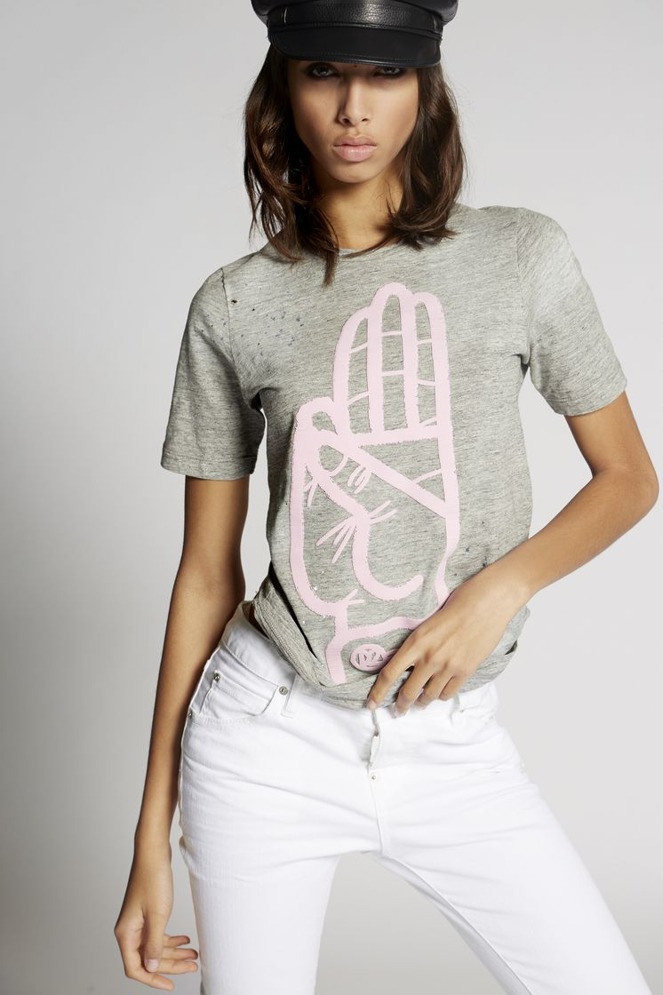 DSQUARED2 S75GC0916S22742858M Short sleeve t-shirt Woman m