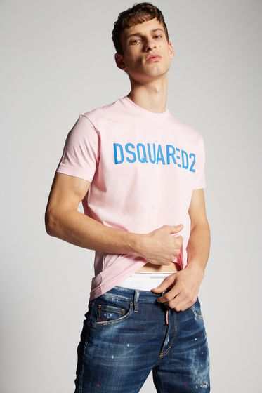 DSQUARED2 Short sleeve t-shirt Man S74GD0384S20694480 m