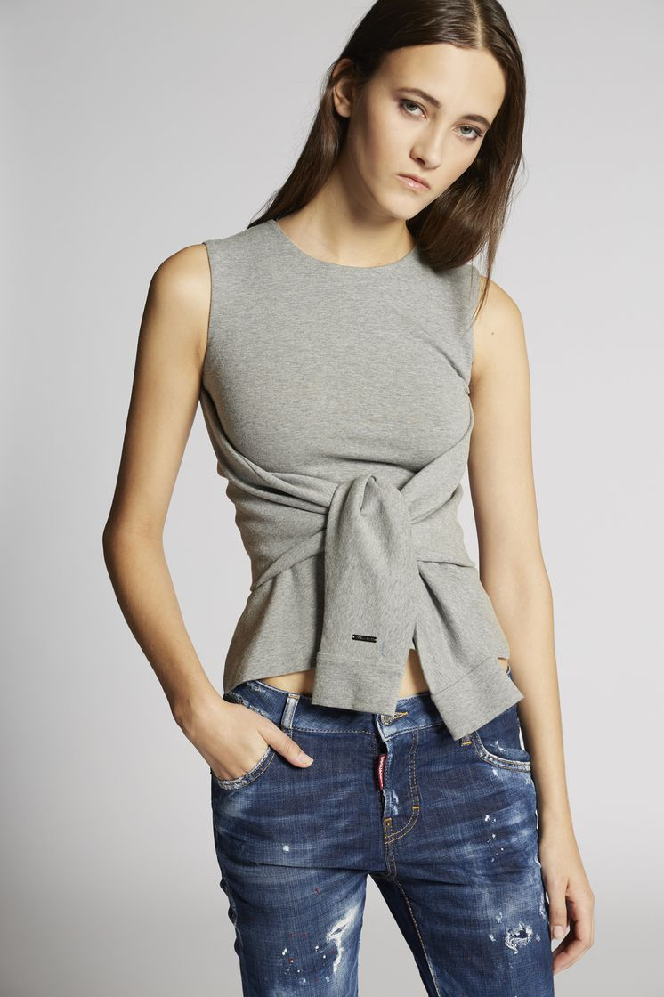 DSQUARED2 Knotted Top Top Woman
