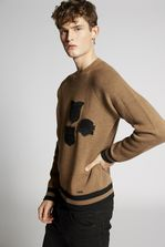 DSQUARED2 Scout Patch Wool Pullover Pullover Man