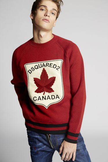 DSQUARED2 Pullover Man S74HA0865S16253961 b
