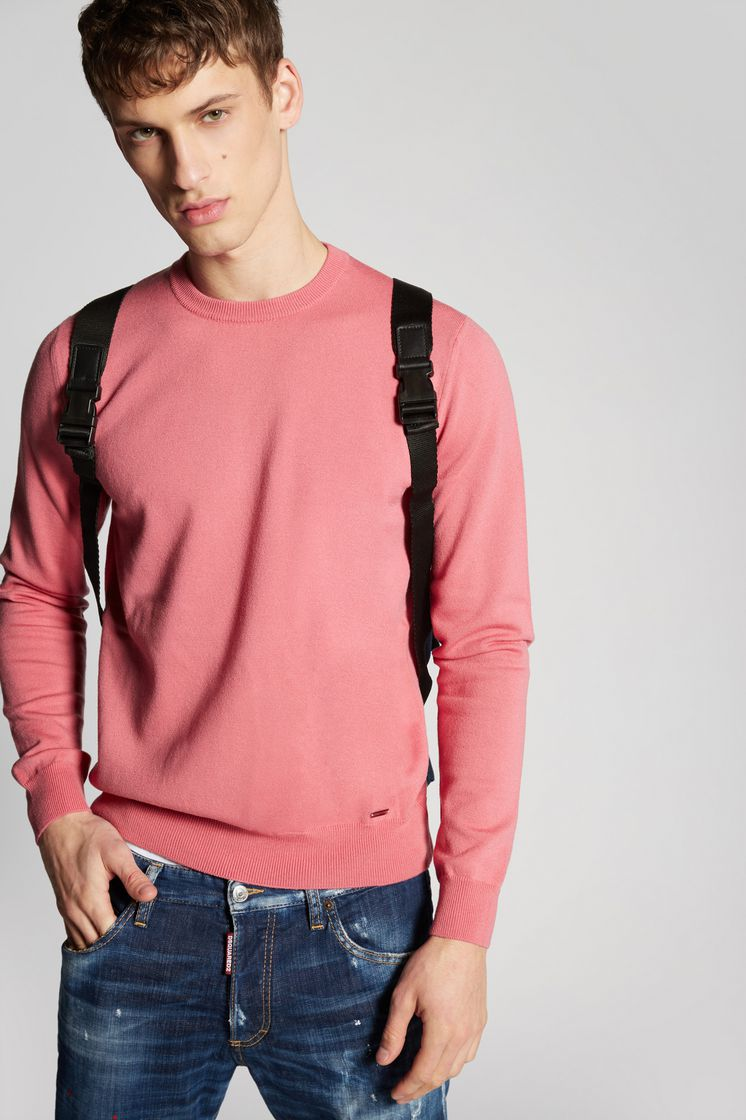 DSQUARED2 Wool Knit Pullover Pullover Man
