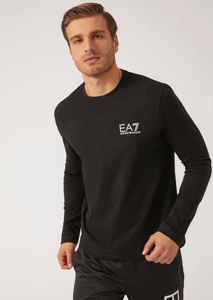 armani uomo t shirt elasticizzata