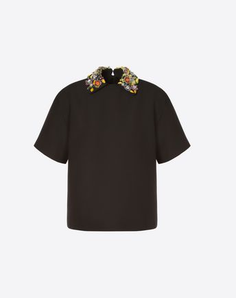 VALENTINO TOP D Stripes Re-edition top  f