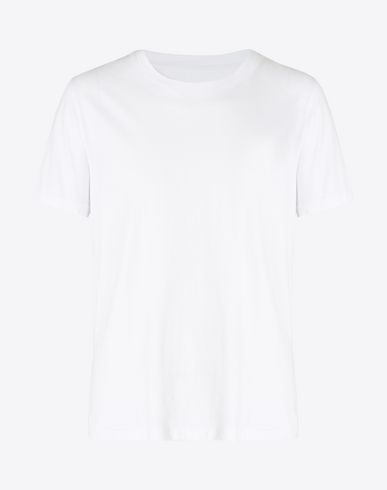 MAISON MARGIELA Short sleeve t-shirt Man Pack of 3 cotton T-shirts f