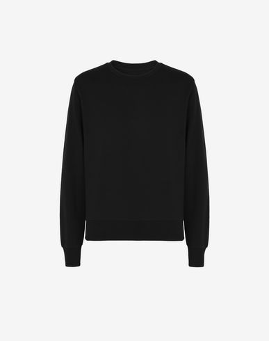 MAISON MARGIELA Sweatshirt U Cotton sweatshirt with elbow patches f