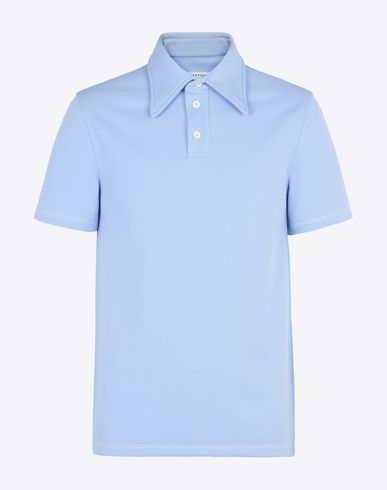MAISON MARGIELA Polo shirt U Polo shirt with contrast stitching f