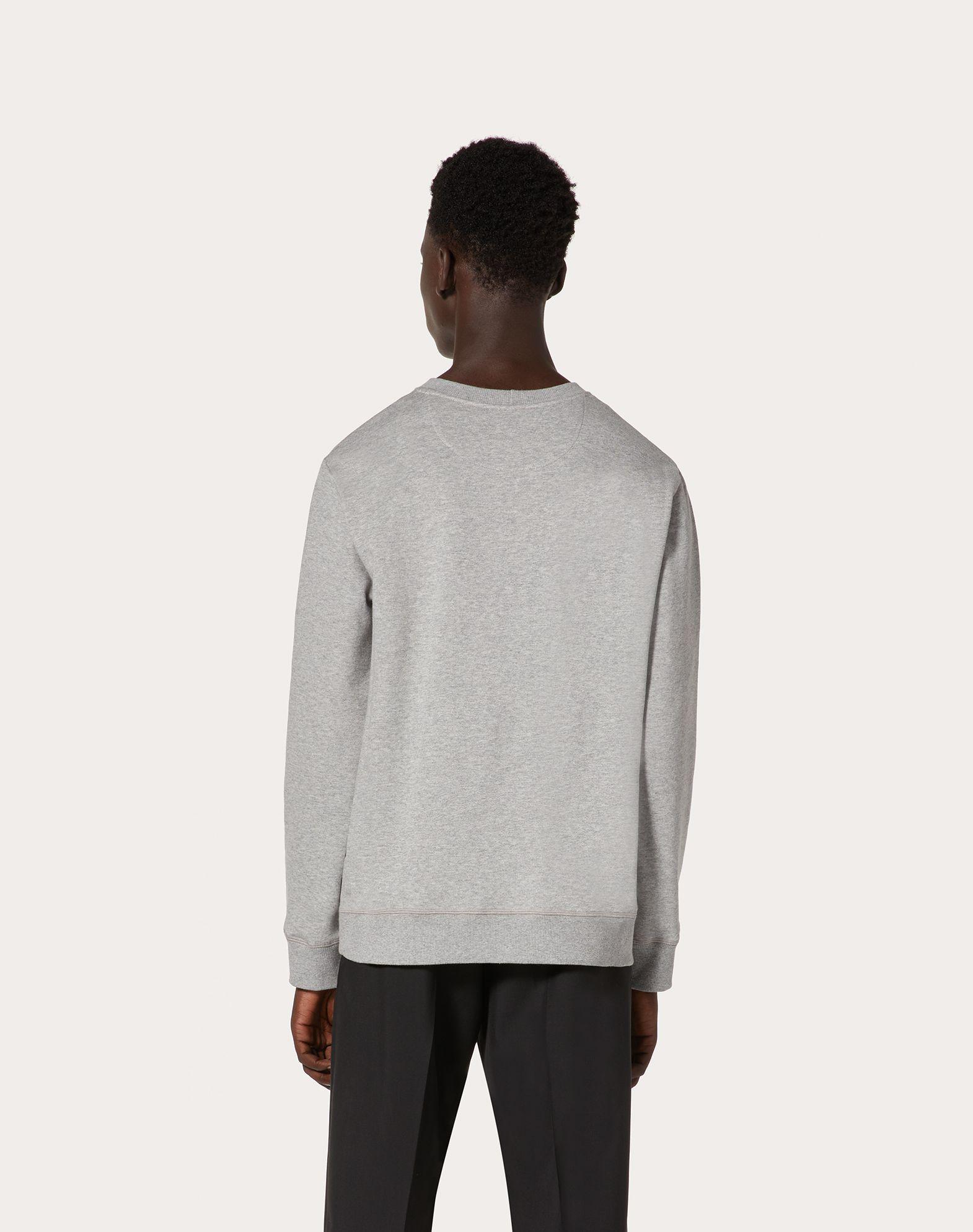 VALENTINO UOMO VLTN crew-neck sweatshirt Sweatshirt U e