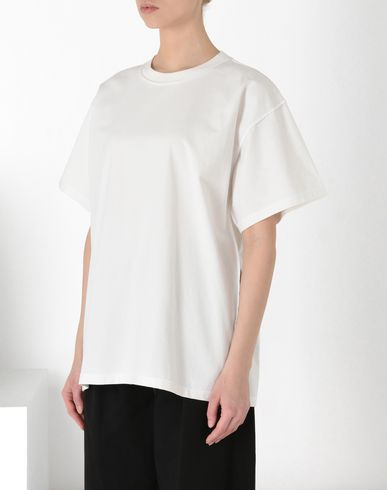 MM6 MAISON MARGIELA Short sleeve t-shirt Woman Oversized logo T-shirt f