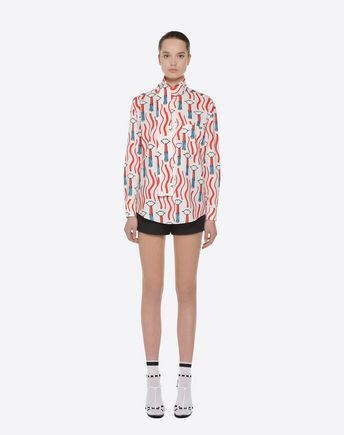 VALENTINO TOP D Stripes Re-edition top  r