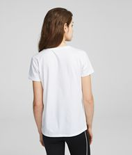 KARL LAGERFELD Address Logo T-Shirt 9_f