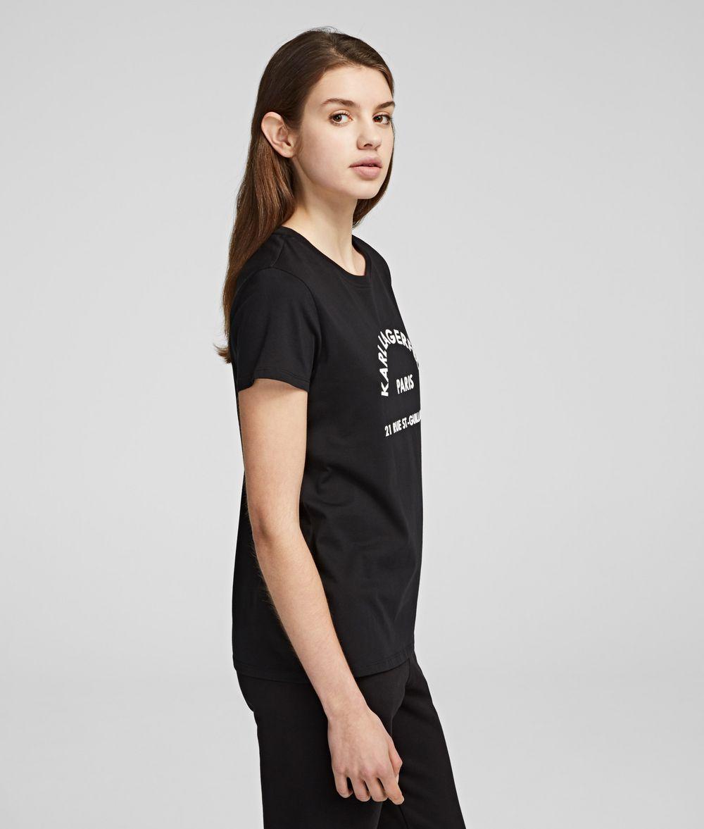 KARL LAGERFELD Karl Lagerfeld Address Tee T-shirt Woman d
