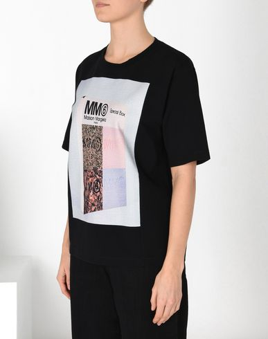 MM6 MAISON MARGIELA Short sleeve t-shirt D Printed cotton T-shirt f